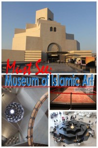 From its wide array of collections and artifacts, to its architectural gem of a building and the spacious and serene park that surrounds it, Museum of Islamic Art is indeed a must see in Doha, Qatar. Situated on its own island of approximately 45,000 sqm, Museum of Islamic Art is bounded by the waters of the Arabian Gulf. It can be accessed through the Corniche Road with a beautifully landscaped promenade that features cascading waters, palm trees and a water fountain. The crescent shaped MIA Park is at the building's side. It features vast green space, playgrounds and a café. We won't delve much on the park as it certainly deserves its own post; we mentioned it as it is an integral part of the Museum's surroundings.
