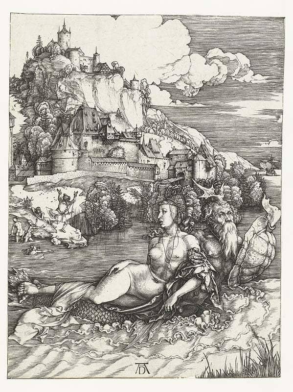 Printmaking: Albrecht Durer - The Sea Monster