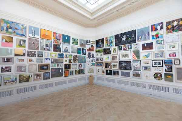 Selling your art The royal academy summer show.
