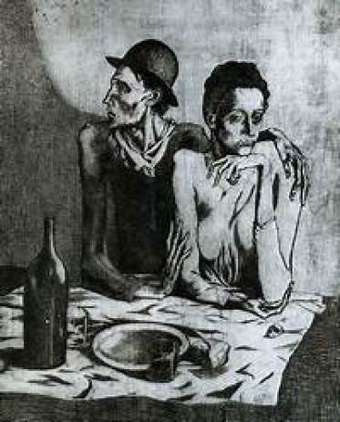 Printmaking: The Frugal Meal Picasso