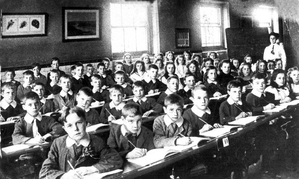 Once upon a time inky fingered small boys and girls would gather in large unheated rooms and sit at uncomfortable wooden desks. The desks would be arranged in neat rows with military precision by stony faced teachers, not long out the army and with an almost uniform disdain for inky fingered children of any gender.