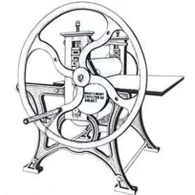 Printmaking: Rochat etching press