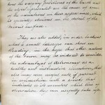 GT Davis' handwritten introduction to his book of observations. Part II