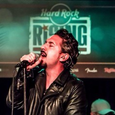 Ryk Ramos el en Hard Rock Cafe Madrid