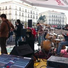 Ryk Ramos en la Puerta del Sol