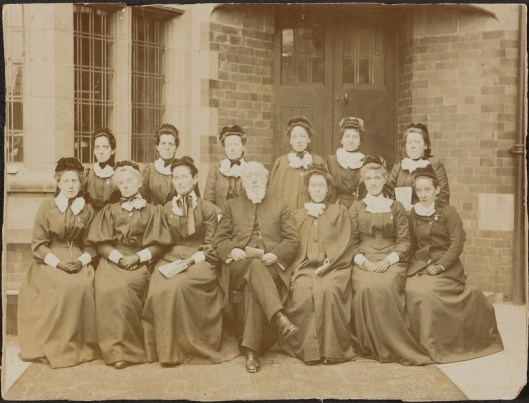 Photograph of staff of the Wesley Deaconess Order