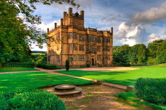 The beautiful Gawthorpe Hall, Padiham, Lancashire, home of Sir James Phillips  Kay-Shuttleworth from 1842. Photo credit: Lee Pilkington. http://www.nationaltrust.org.uk/gawthorpe-hall/visitor-information