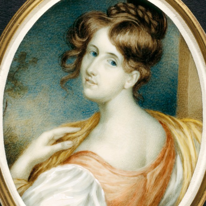 Elizabeth Gaskell in her younger days.