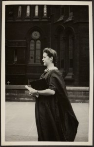 Joan David (nee Storey), who received a BSc and MSc from the University of Manchester