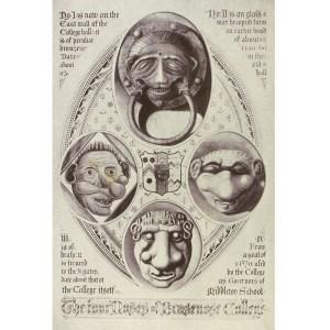 The Four Noses of Brasenose College-Herbert Hurst. R77284