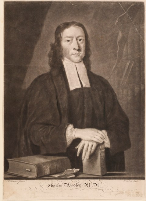 4. Another 18th-century copy of the engraving by Faber.