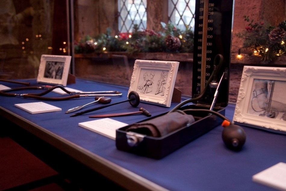 Items shown above were part of an exhibition at Chetham's Library in 2015.