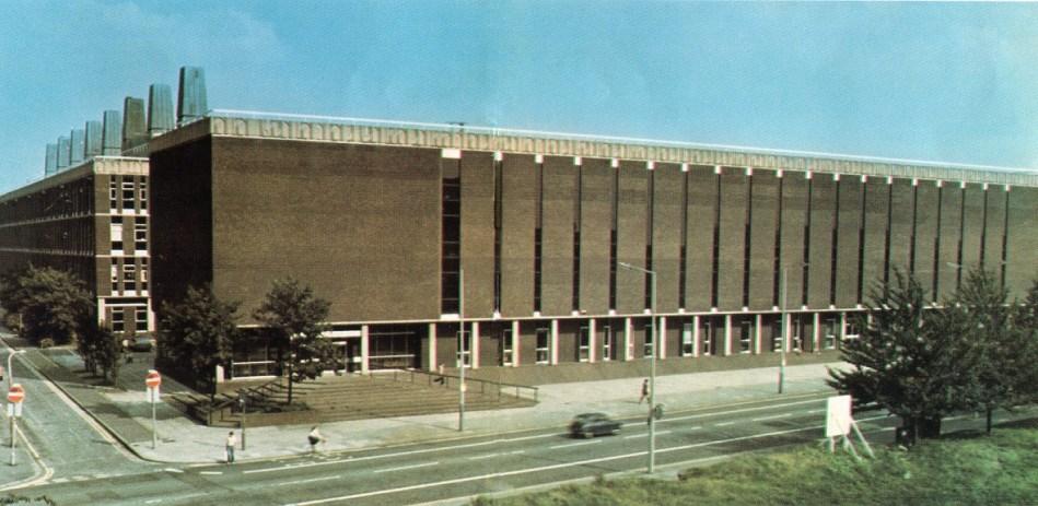 The Stopford Building C. 1970's.