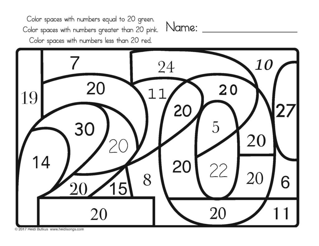 30 Adding Integers Coloring Worksheet