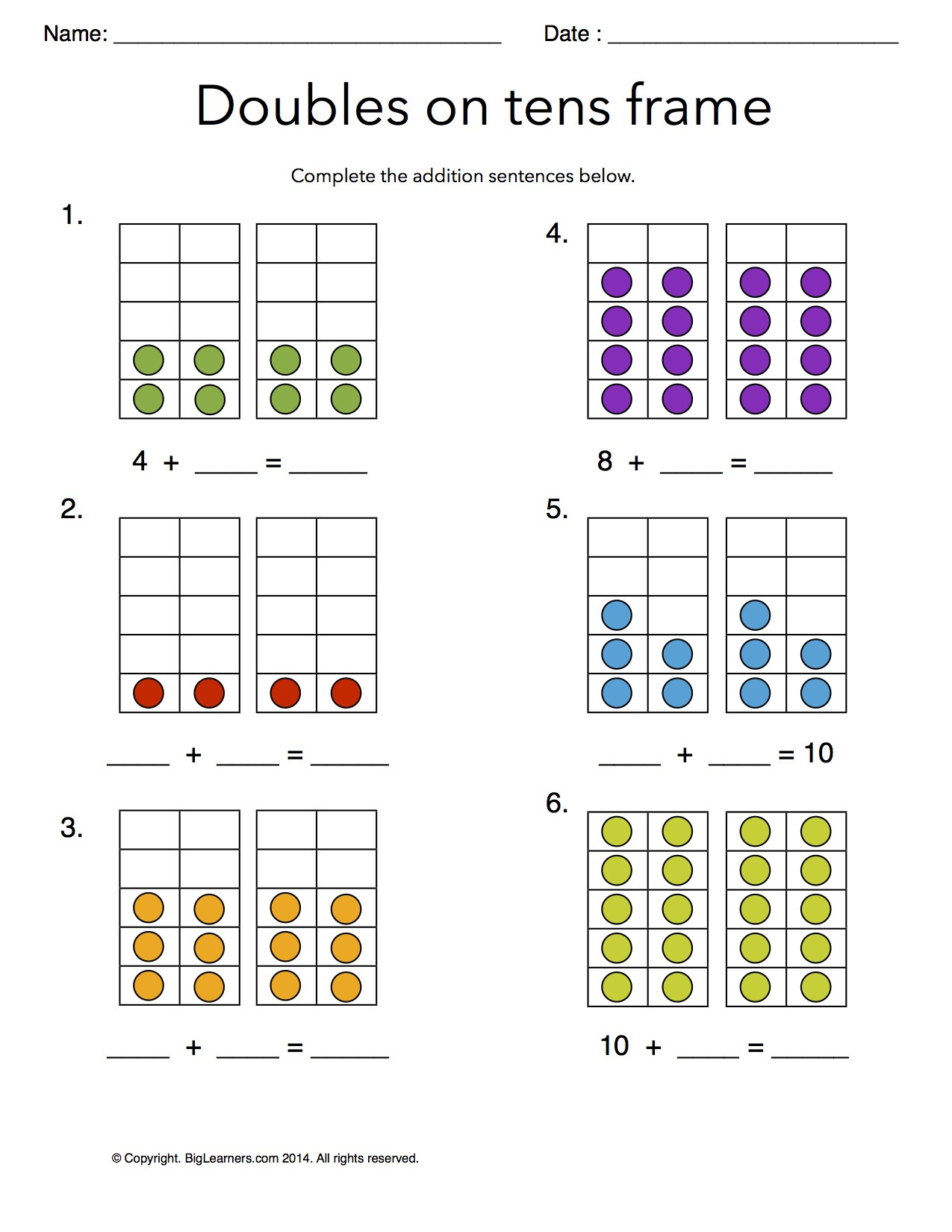 30 Decomposing Numbers Worksheets Grade 2