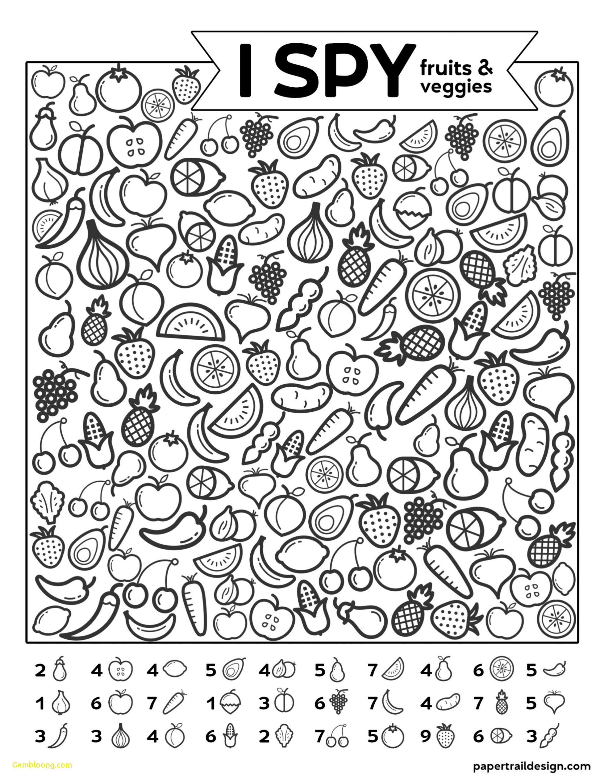 Fruits And Vegetables Worksheet Theme Library