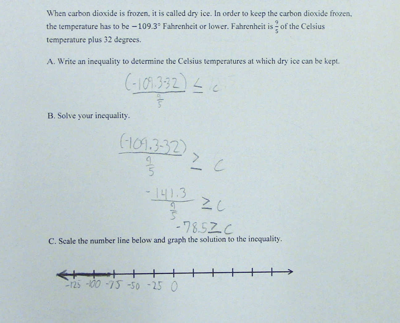Inequality Number Line Worksheet Theme Library