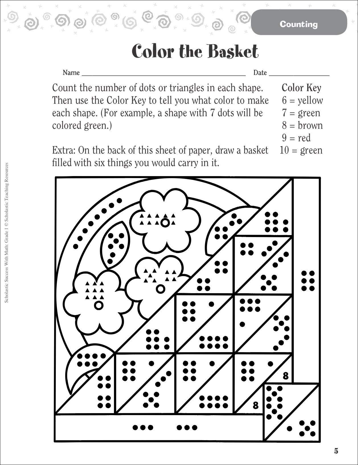 30 Matching Numbers To Quantities Worksheet