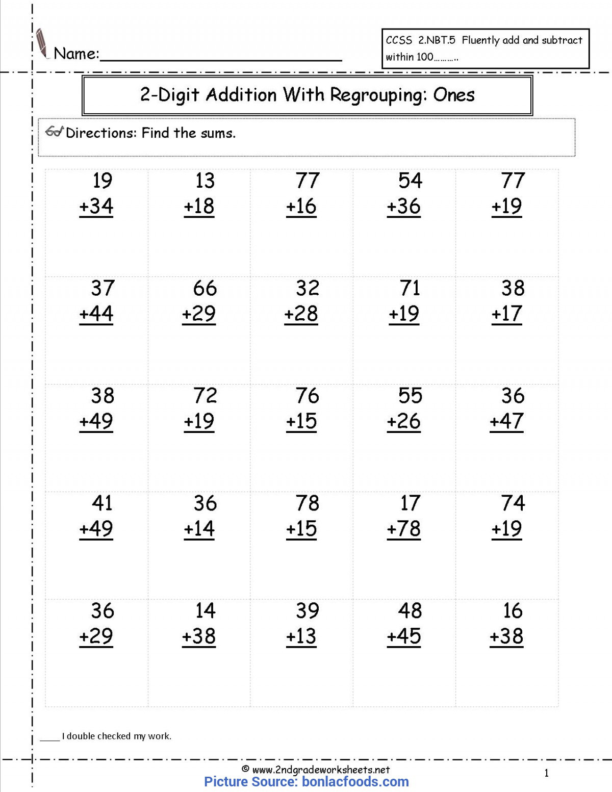 Number Patterns 2nd Grade Worksheet Theme Library