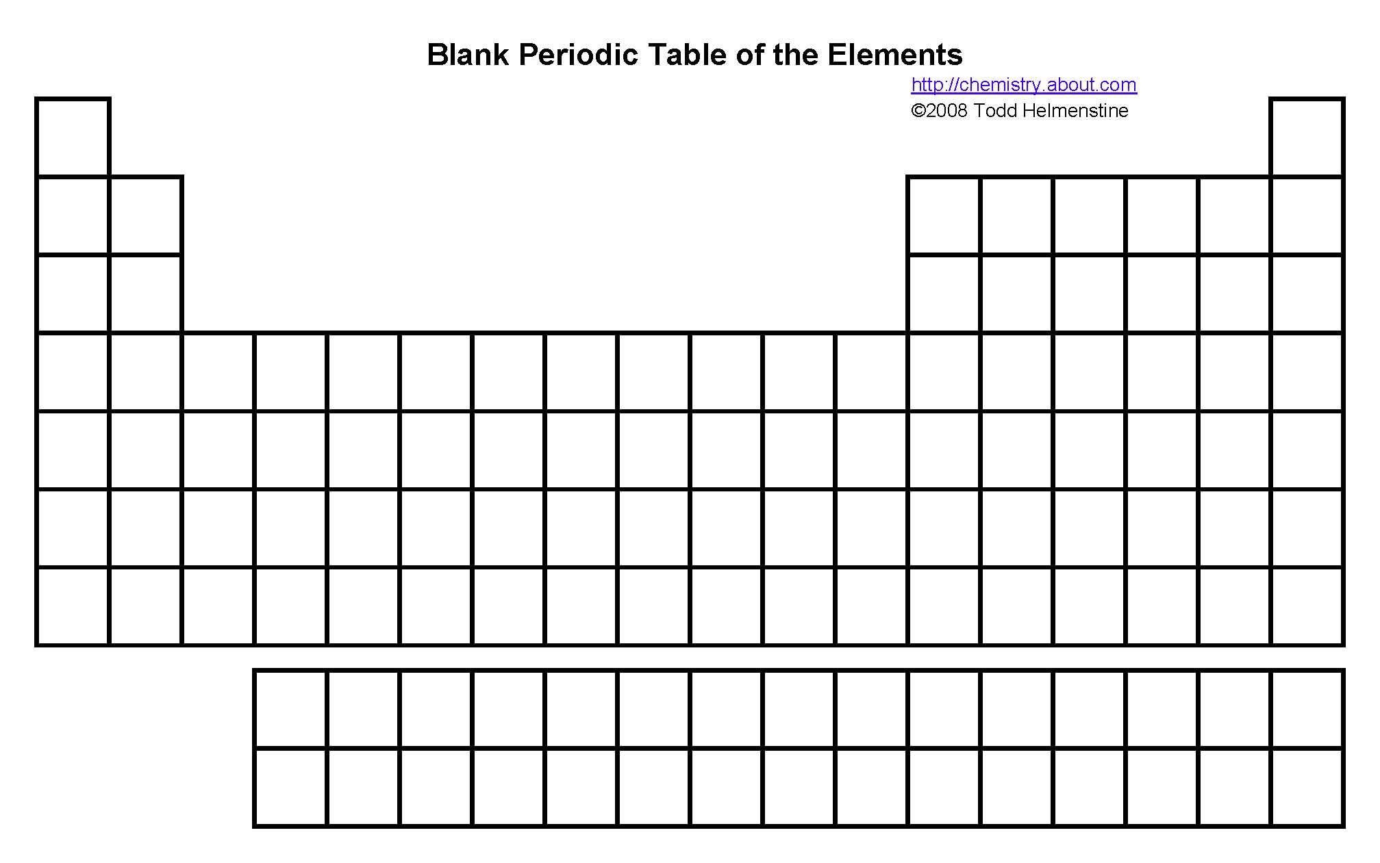30 Periodic Table Fill In Worksheet