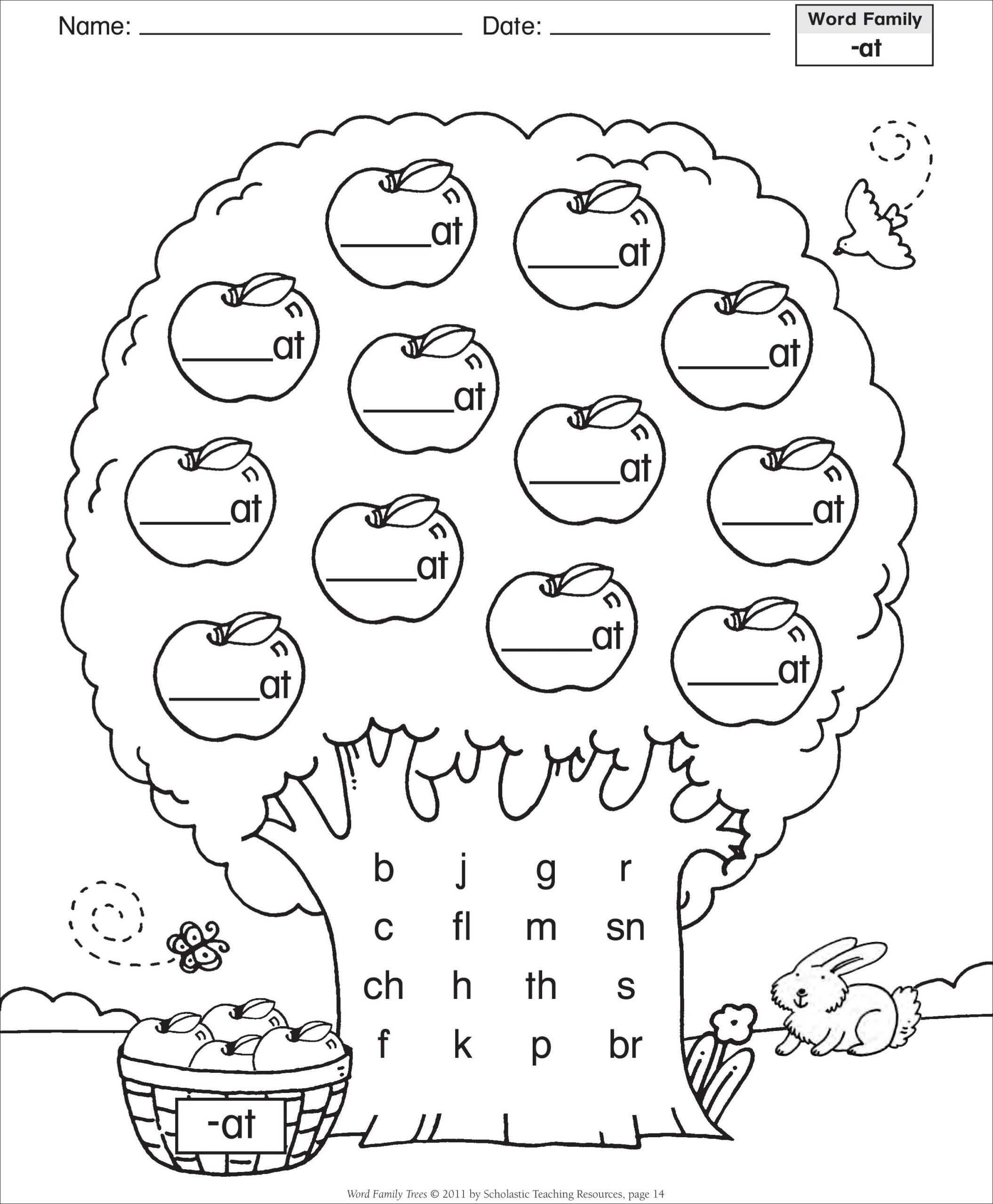 Short Vowel Coloring Worksheets Theme Library
