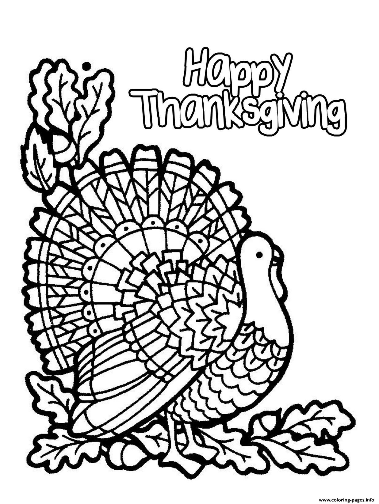 30 Turkey Multiplication Coloring Worksheet