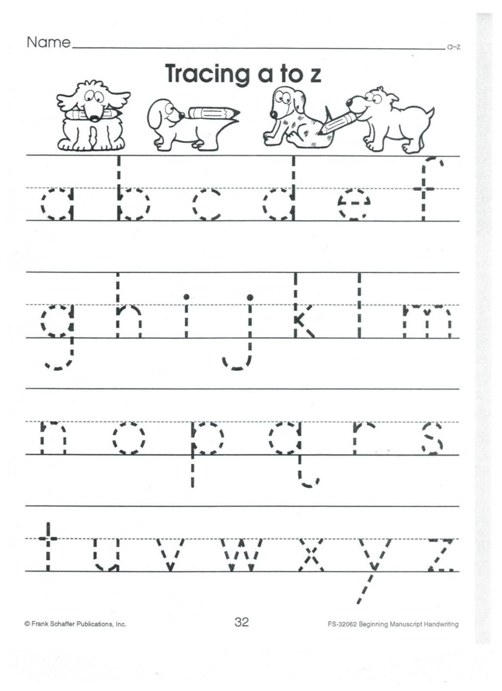 30 Tracing Lowercase Letters Worksheet