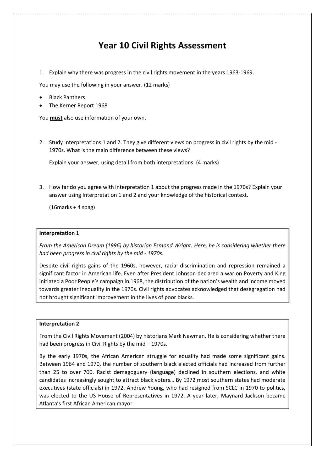 30 Why Study History Worksheet