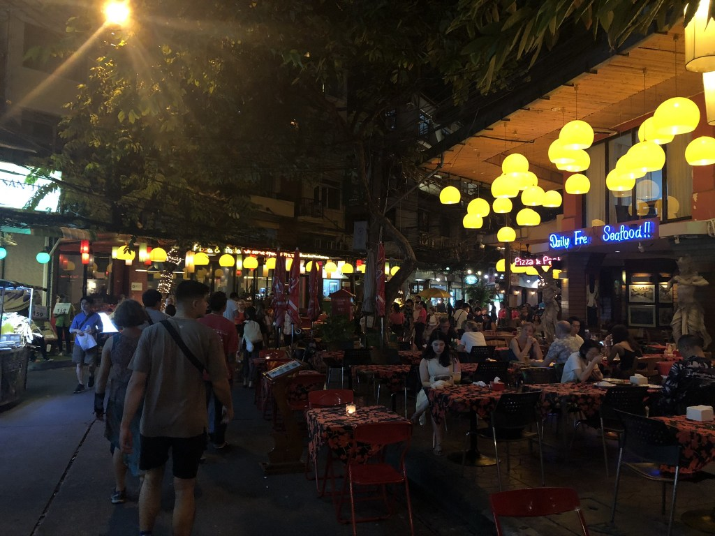 Picture of Khaosan Road, crowded at night