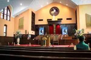 Martin Luther King's church (Ebenezer Baptist Church) in Atlanta, Georgia