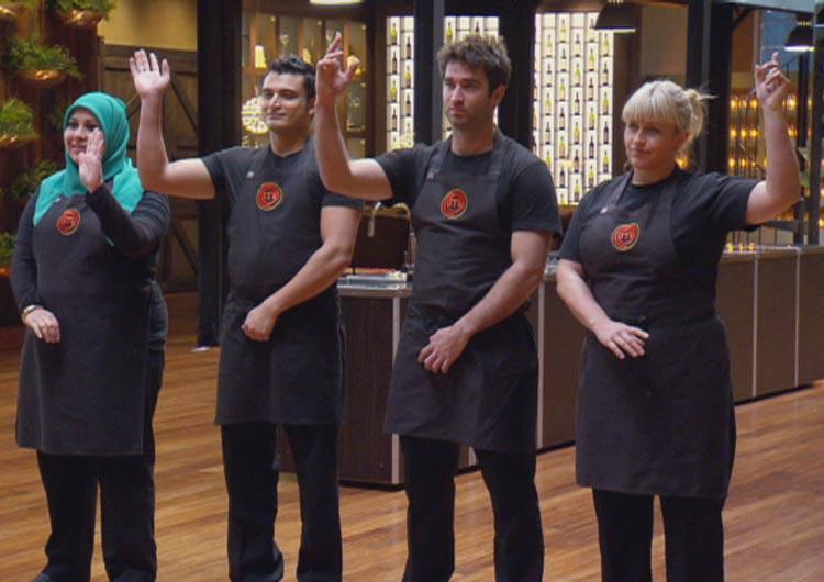 MasterChef Australia Season Five – The Final 3 Revealed