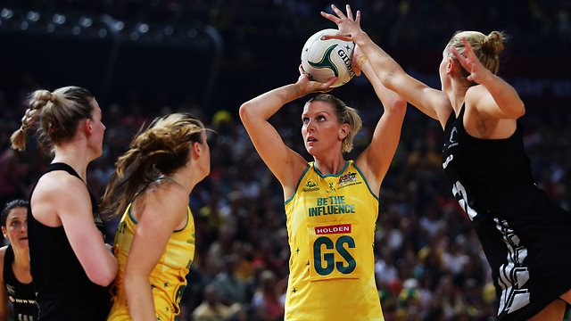 Ten to  Broadcast Netball 2015  World  Cup