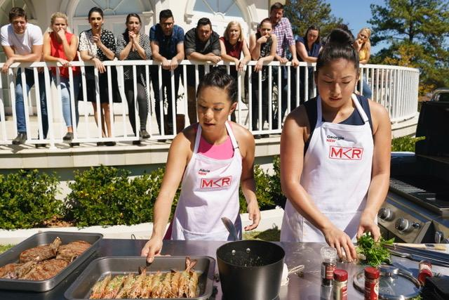 Stuss and Steve Exit My Kitchen Rules