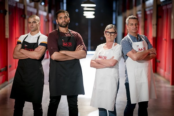 Lyn and Sal leave My Kitchen Rules