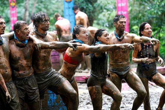 Survivor gets muddy as the score is settled