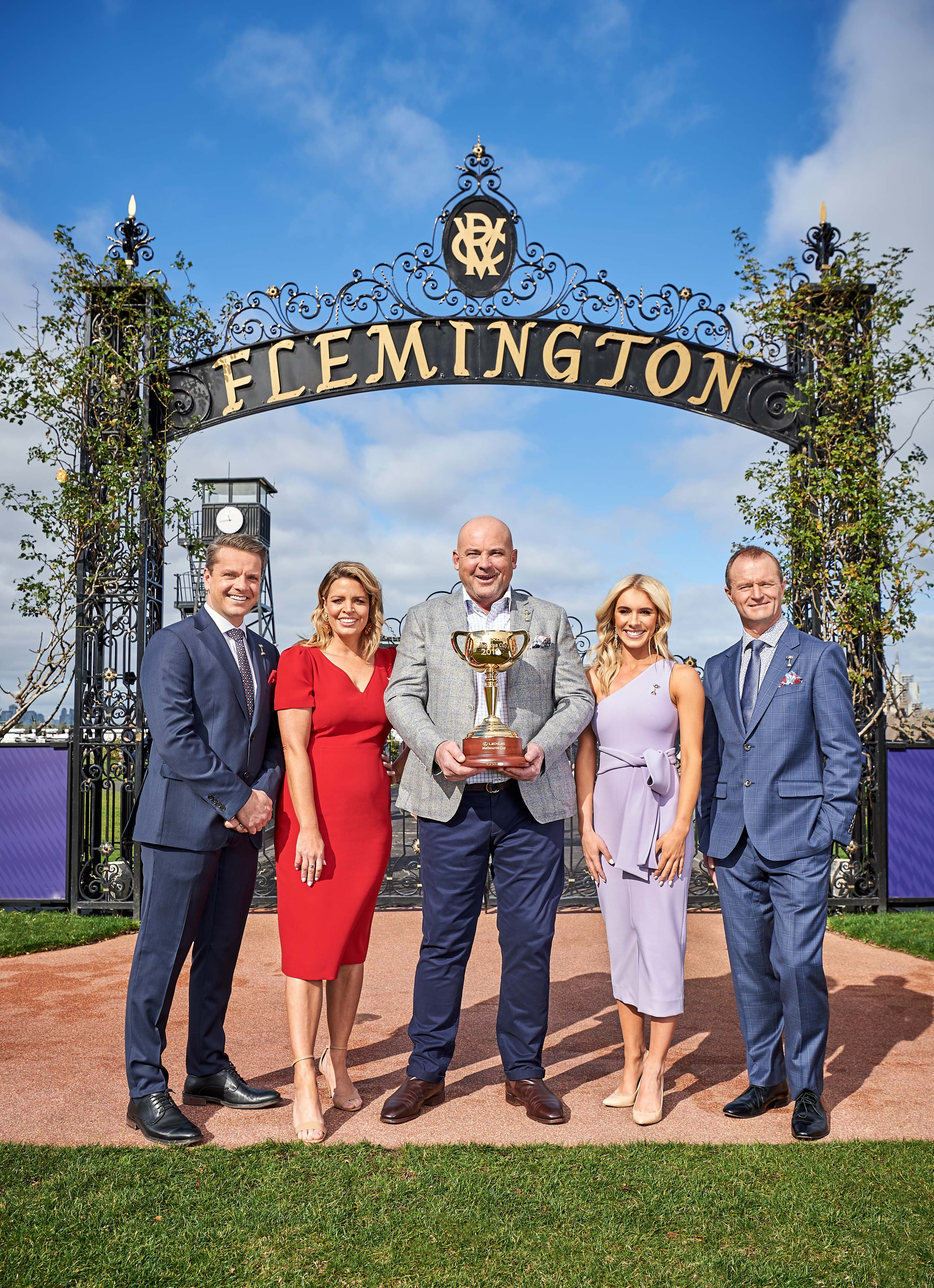 The 2019 Melbourne Cup Carnival Racing team announced