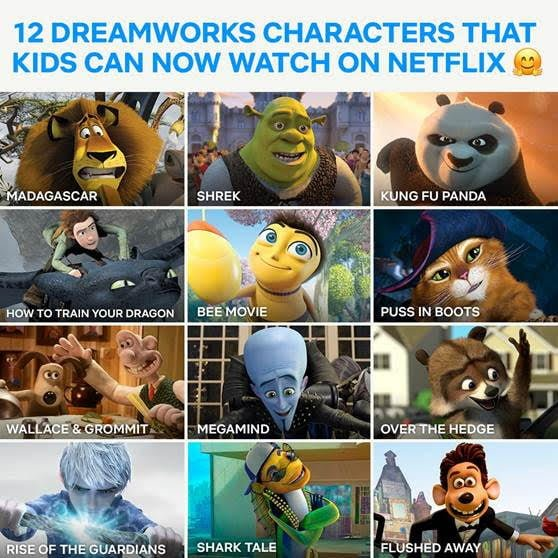 Netflix adds Dreamworks titles to Library