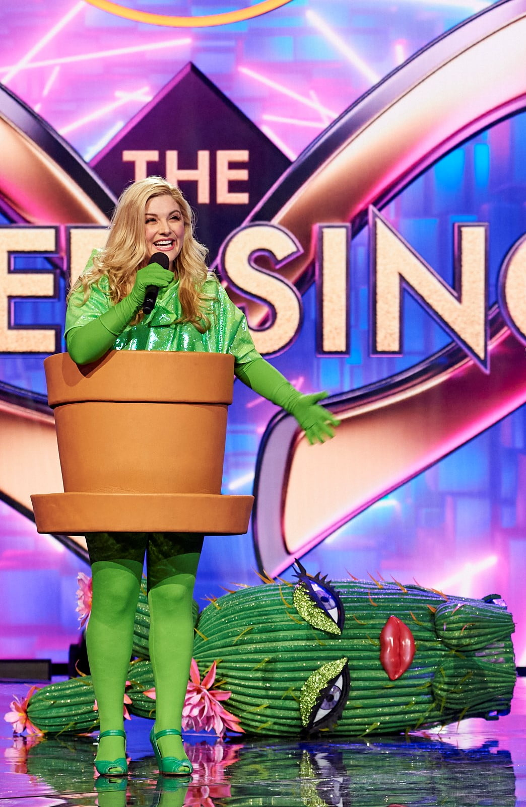 Stage And Screen Star Revealed As The Masked Singer Cactus.