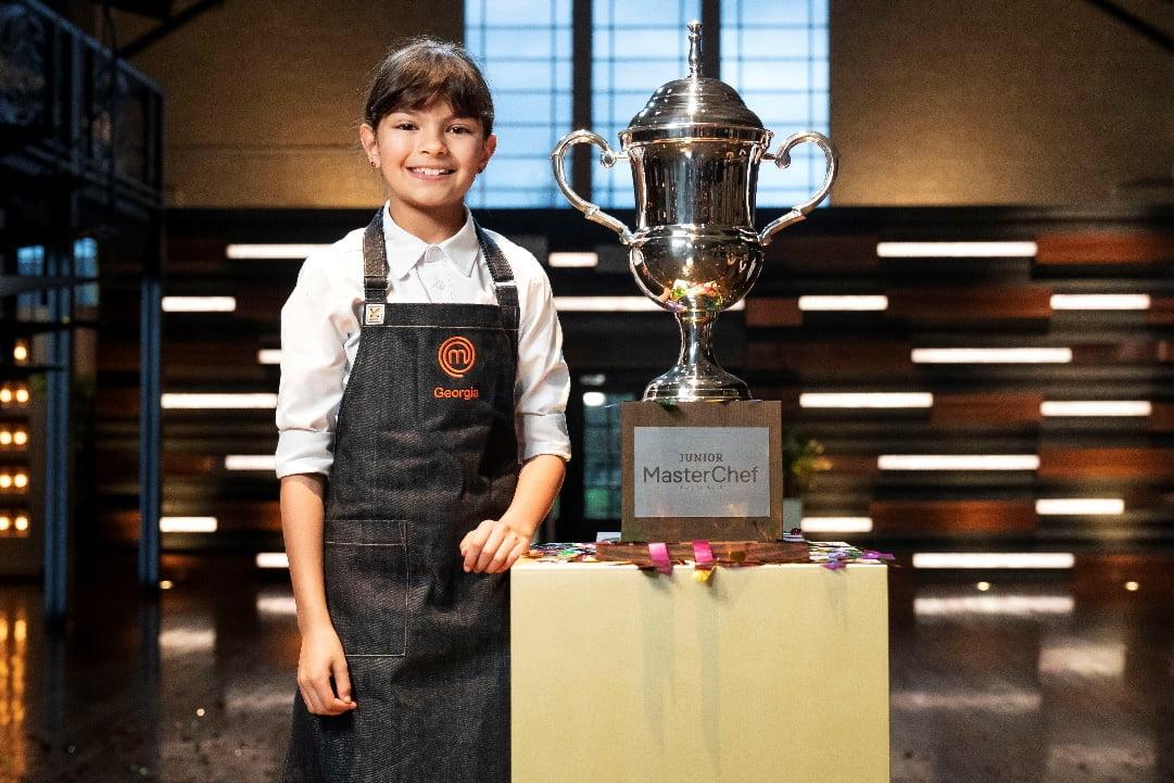 Georgia Crowned Junior MasterChef Australia Winner 2020.