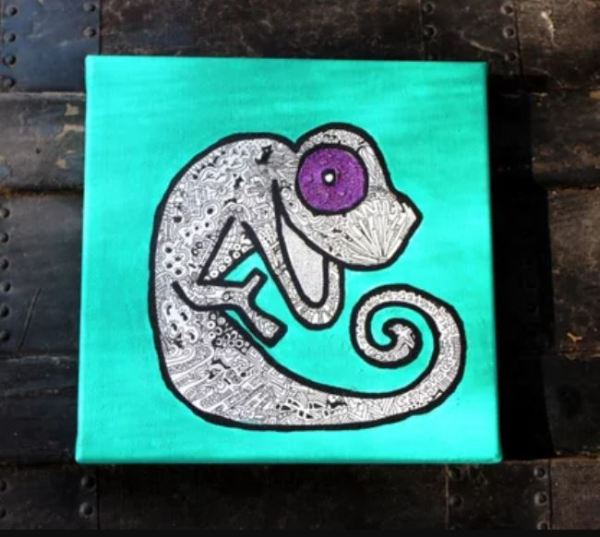 happy chameleon recovery gift