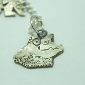 custom pet charm sterling silver