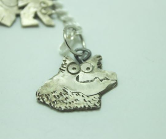 custom pet charm sterling silver