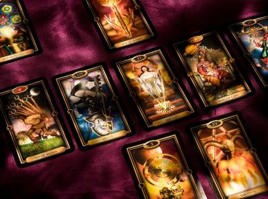 tarot cards set goals