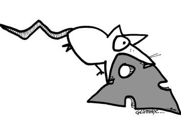 deadly sin gluttony rat cartoon