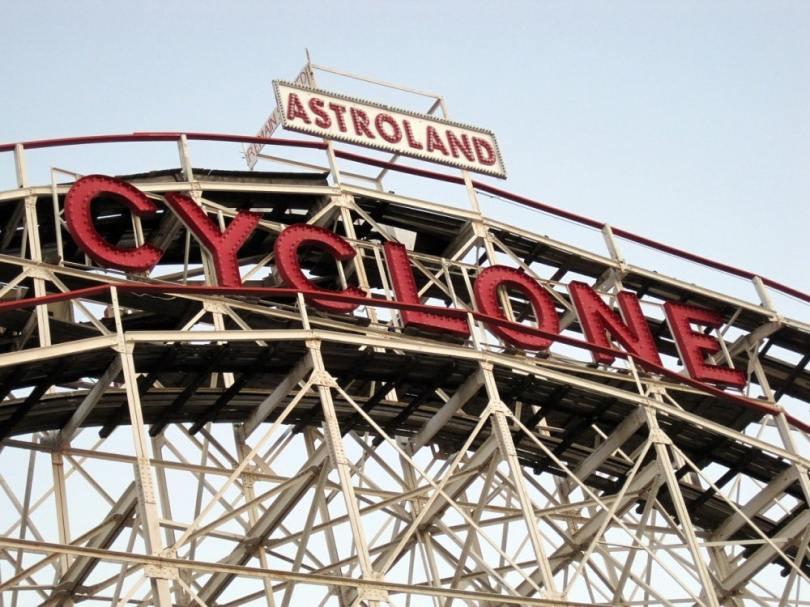 roller coaster coney island cyclone