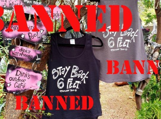 coronvirus shirts banned rynski
