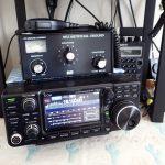 固定運用無線機と外部電源新調 … IC-7300、DM-330MV