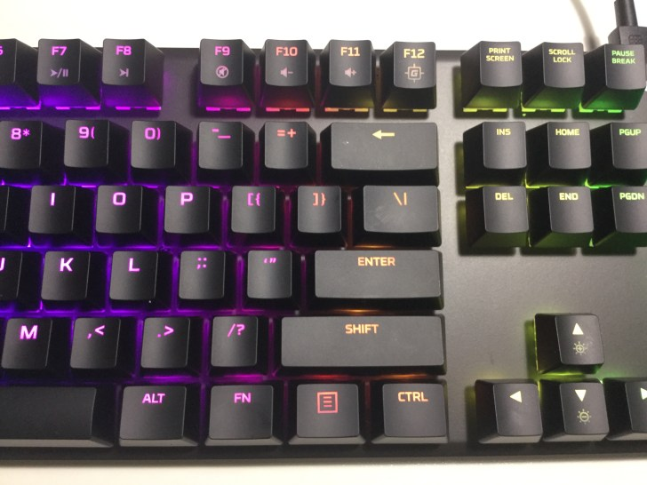 Alloy FPS RGB デメリット