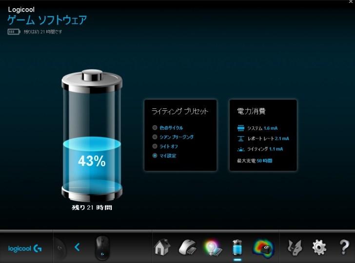 GPRO wireless バッテリー性能