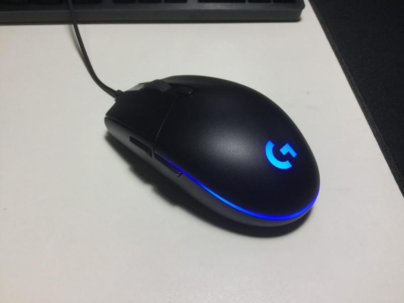 \レビュー/Logicool G「PRO HERO」マウス沼になっても結局これに戻る。王道の有線式ゲーミングマウス